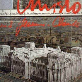 Bildband Christo  Verhuellung Reichstag Berlin