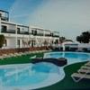 Resort in Betrieb auf der Insel Lanzarote, Canarias