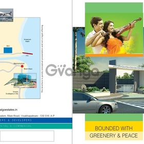 Residential  plots for sale at 'pandrangi' in  visakhapatnam  city
