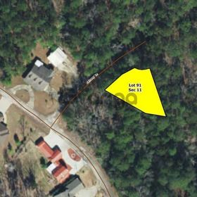 Land for Sale 0.25 acre, 306 Oakdale Drive, Zip Code 75931