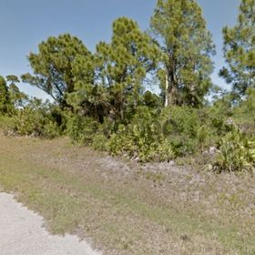 Land for sale 0.28 acre, lot 7 blk 2358 48th add to port charlotte 1210 trevor st, zip code 34288