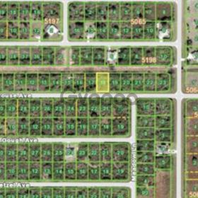 Land for Sale 0.22 acre, 12224 Grouse Avenue, Zip Code 33981