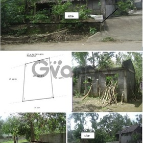 Residential Lot with improvement for sale
