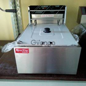 Single Tank Electric Deep Fryer