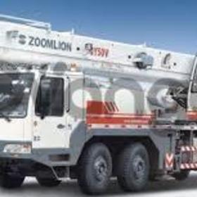 qy55 zoomlion mobile truck crane