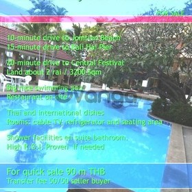 South Pattaya 56 Room Resort Hotel Sale