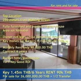 Pattaya 24 Room Guesthouse near Walking Street