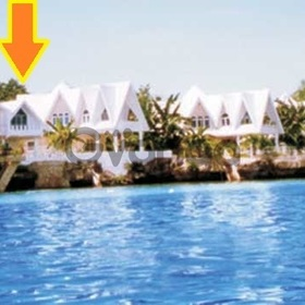 For rent beach triple house left seashore tingko white beach, alcoy cebu