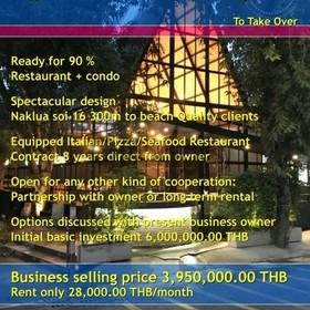 Pattaya Wongamat Restaurant Take Over