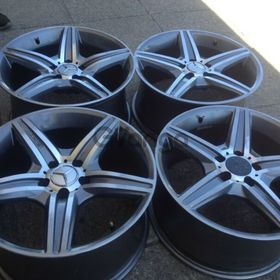 """AMG 18"""" used narrow and wide rims"""