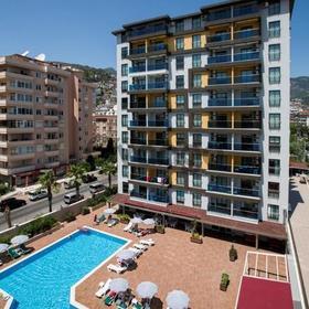 Luxury Residence appartment 1+1 on Kleopatra Beach Alanya
