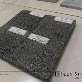 Elegant Black Lava Stone Floor Tiles-Indonesia Bali LavaStone India