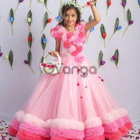 Kids Party Wear Gowns