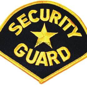 Placement of security guards