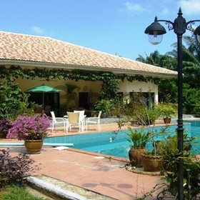 3 Bedroom 314 sq.m Villa + guest house with 3 small bedrooms for Sale, Tha Lane bay, Krabi