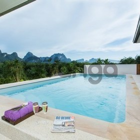 3 fully furnished luxury pool villas each with 2 bedrooms and 2 bathrooms.