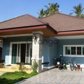 Brand new 3 bedroom family villa + a house with 5 rental rooms for Sale, Ban Natin