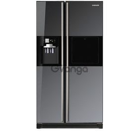 SAMSUNG - 524l Mirror Side-By-Side Fridge/Freezer