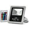 LED Flood Light 10W Multicolor w/ Remote