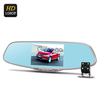 Dual Camera Rear Mirror Car DVR