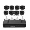8 Channel NVR Kit + POE Cameras