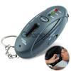 Keychain Breathalyzer with flashlight