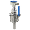 Insertion type ALIA Electromagnetic Flowmeter AMF100,tap water measurement