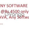 Learn any software course @ rs.4500 only