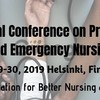 23rd International Conference on Primary Healthcare and Emergency Nursing