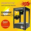 SuperCarver 1000mW Miniature Laser Engraving Machine Box Machine Household DIY Mini USB Printer Educational Toy Black