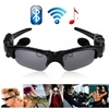 Foldable Sunglasses Wireless Bluetooth Headset Headphones Handsfree for iPhone/Android Phones Black