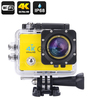 4K Wi-Fi Waterproof Action Camera (Yellow)