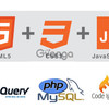 Web designing (html css js jquery bootstrap) and web development (php codeigniter ajax) training