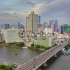 30th Fl. 167sqm. Riverside Chaophraya River, near Biggest Shopping Center Icon Siam, Bangkok Thailand.