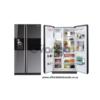 SAMSUNG - 524l Mirror Side-By-Side Fridge/Freezer