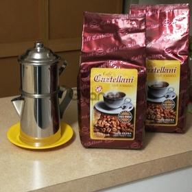 Café caztellani - grano y aroma