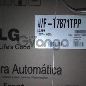 Lavadora automatica lg 7 kg