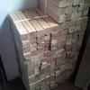 Listones de madera para hacer patas de box print