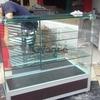 Vitrinas en aluminio y vidrio o acero y vidrio