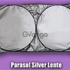 Parasoles tipo lente para auto