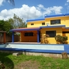 En Merida Zona Norte Casa amueblada de 3 habitaciones en Cholul con piscina