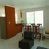 En Merida en Fracc. Cd. Caucel casa amueblada de 3 habitaciones cerca del Aeropuerto