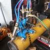 biseladora manual CG2-11Y, llama de corte Oxigeno-Acetileno (u oxigeno-propano)