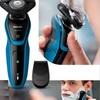 Afeitadora eléctrica Philips® Original Recargable Aquatouch S5050 Seco Y Húmedo con garantía