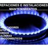 Mantenimiento Estufa, calentador, horno, chimenea y secadora a gas