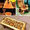 Muebles y bares rusticos en madera selecta