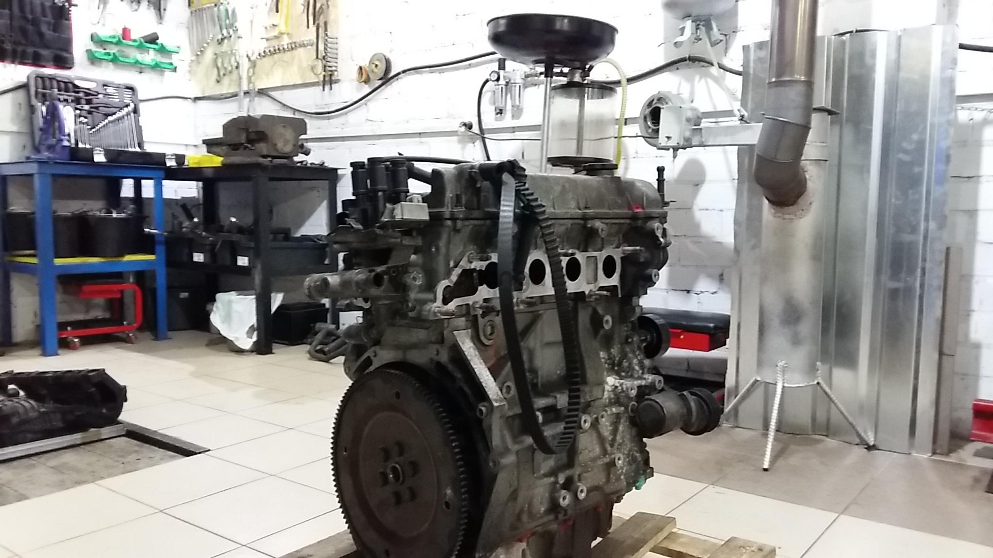 Капремонт двигателя портер своими руками