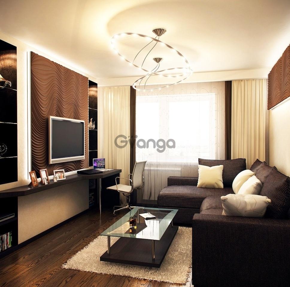 дизайн интерьера фото для небольших квартир