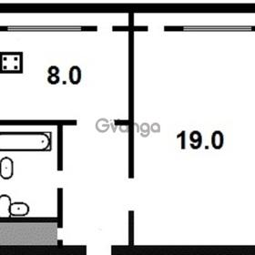 Продается квартира 1-ком 20 м² саенко