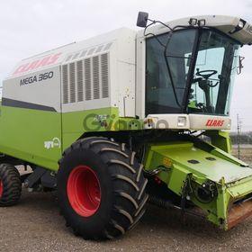 Комбайн зерноуборочный Claas Mega 360 год вып.2006